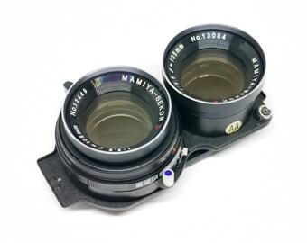 Mamiya TLR 105mm F3.5 portrait lens