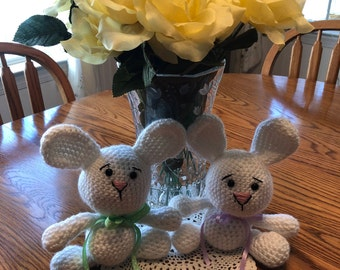 Handmade Bunnies for Easter
