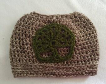 Tree of Life bun hat