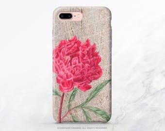 iPhone 8 Case iPhone X Case iPhone 7 Case Wood Peony iPhone 7 Plus iPhone 6s Case iPhone SE Case Galaxy S8 Case Galaxy S8 Plus Case V2