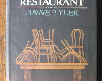 Dinner At the Homesick Restaurant ANNE TYLER Knopf 1982 Stated First Edition