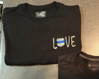 Love with Thin Blue Line