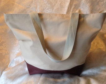 Large tote or beach bag