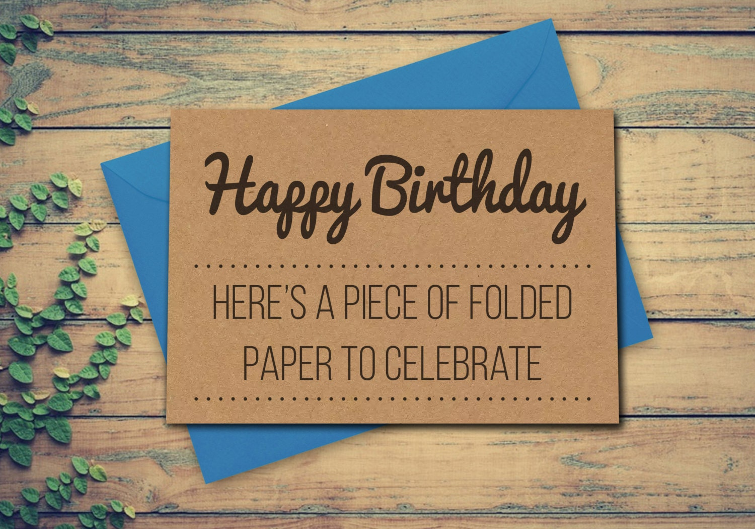 Funny Greeting Card Card For Birthday Recycled Birthday Card