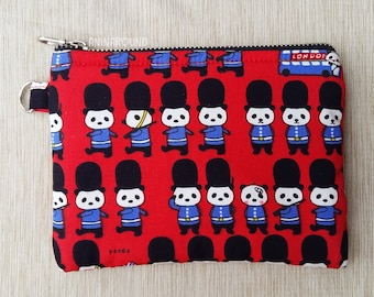 panda coin purse, animal wallet, coin purse, cute coin purse, zipper pouch, credit card wallet, change purse, coin pouch, money wallet.