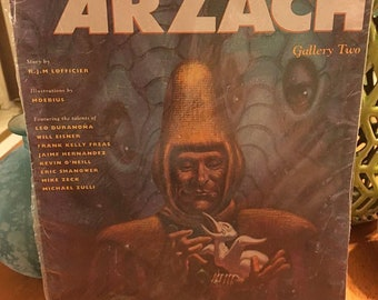 Legends Of Arzach R.J.M. Lofficier Gallery Two White Pteron Comic Book Magazine
