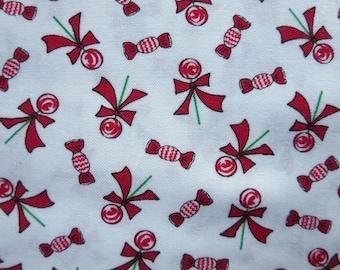 Bunny Hill Designs Seasonal Christmas Lollipops White - Moda Christmas - 2913 12 Sugar Plum Christmas