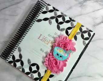 Pink, yellow and aqua bowl of cereal  Planner Band *Limited Edition*
