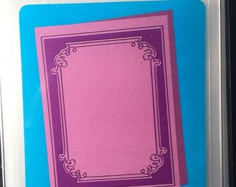 Grace's Frame Cuttlebug  Embossing Folder