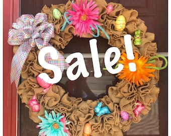 SALE! Ready to ship Easter Wreath
