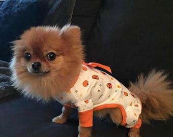 Halloween onesie PJs