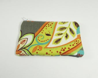 Coin Purse - Ready to Ship - Coin Purse - Change Purse - Small Credit Card Wallet - Zip Money Bag