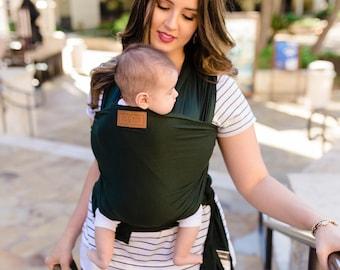 PINE GROVE Baby Wrap, Baby Carrier, Newborn Wrap, Best Baby Shower or Registry Gift Present, Nursing or Breastfeeding Wrap