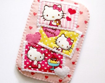 Love Kitty Pink Hearts Camera iPhone Gadget Case LAST PIECE