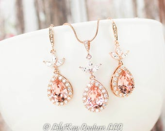 Rose gold morganite Etsy
