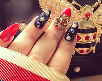 GucciGang - fake nails press on nails false nails