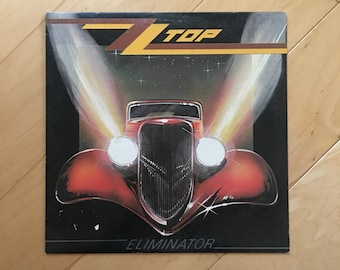 Vintage Record ZZ Top Eliminator Vinyl LP
