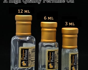 Rowja Musk Oudz For Men 1233 - 3ml, 6ml or 12ml Perfume Oil Roll On