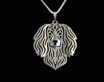 Boykin Spaniel jewelry - sterling silver pendant and necklace