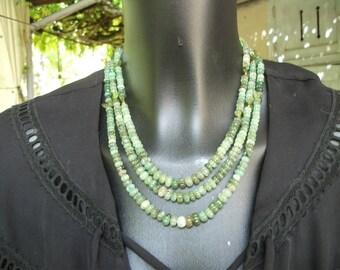 """Emerald natural shades of green """"melon""""."""