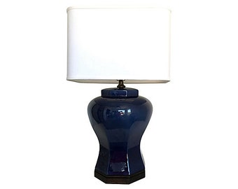Midcentury Ceramic Lamp by Tyndale of F. Cooper