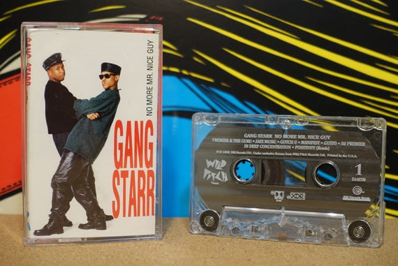 No More Mr. Nice Guy by Gang Starr Vintage Cassette Tape