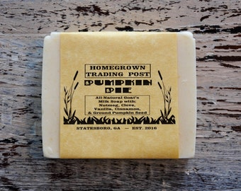 Pumpkin Pie All Natural Goat's Milk Soap