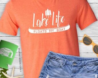 Lake Life, Lake Shirt, Fishing T-shirt, Vacation Shirt, Boating T-shirt, Father's Day Shirt