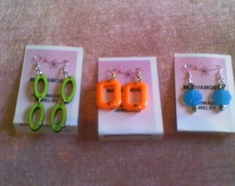 3 For 15......... Fashion.earrings, stocking stuffers  earring lot