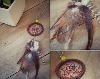 Brown Dream Catcher Necklace | Dream Catcher | Necklace | Gypsy Style