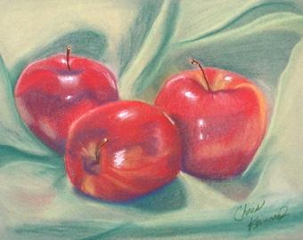 Apples: Print of an Original Oil Painting