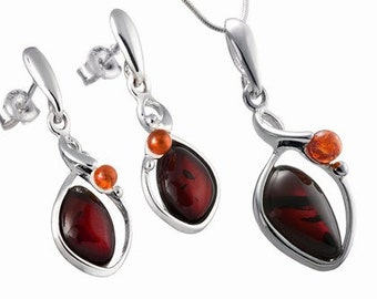 Cherry jewelry set-------063B
