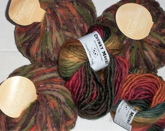 5 Bulky Chunky Fall Colors Yarn