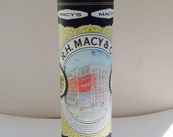 Macy's store cookie tin