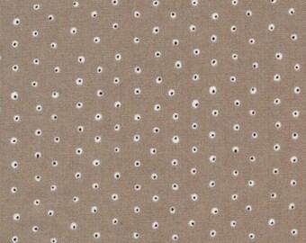 Cloud9 Fabrics - Garden Secrets - Two Tone Tiny Khaki
