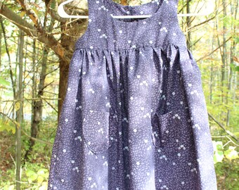 Liberty of London dress, 5 year old, Cotton, Islas print.