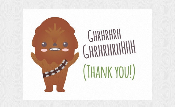 Modest image regarding star wars thank you cards printable free