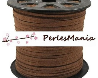 2 m S118 5mm light brown suede cord