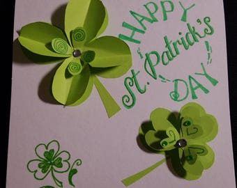 Handmade St. Patrick's Day Card