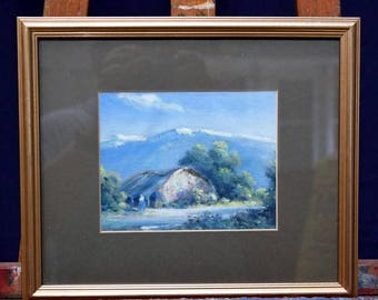 South American Oil On Board signed FUTAL