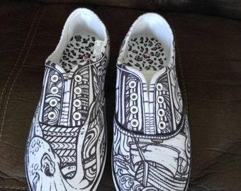 The Unyielding Sea Shoe Set