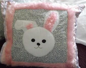 Soft & Fluffy Bunny Cushion