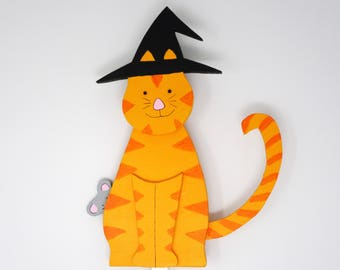 Halloween Cat Witch