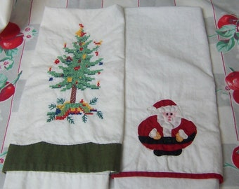 little cotton holiday tea towels