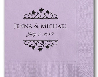 Beverage Napkins~100 Wedding