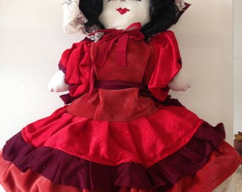 "Hand made rag doll ""Danny"""