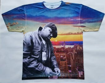 Notorious B.I.G. city is mine sublimation T shirt