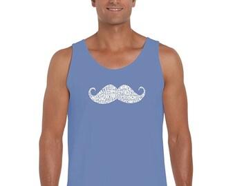 Men's Tank Top - Ways T0 Style A Moustache
