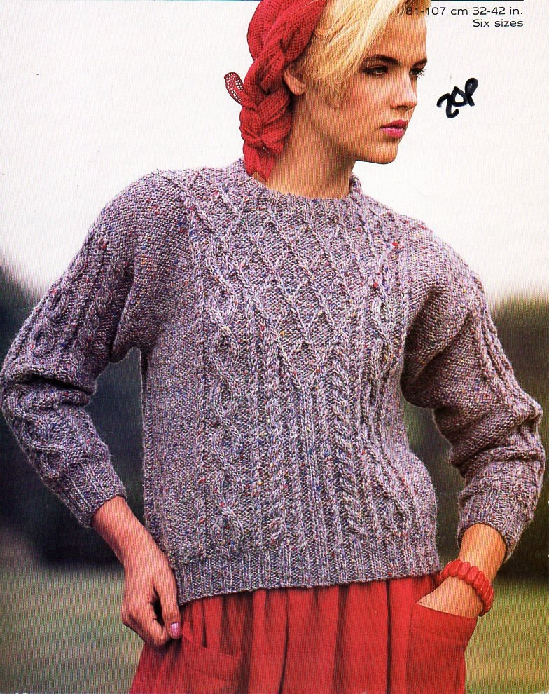 Attractive Irish Sweater Knitting Patterns Picture Collection ...