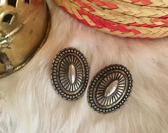 Vintage Bohemian Clip On earrings